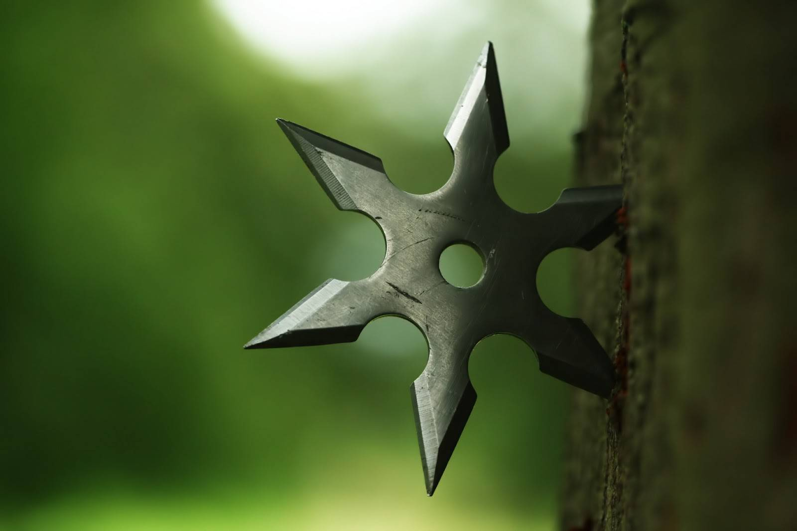 shuriken thrown